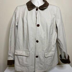 Vintage L.L. Bean chore jacket women's size XL